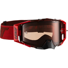 Leatt Velocity 6.5 Anti Fog Goggles, ruby/red
